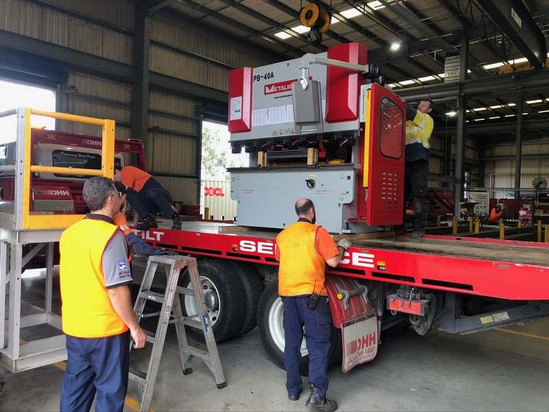 Press brake repairs melbourne